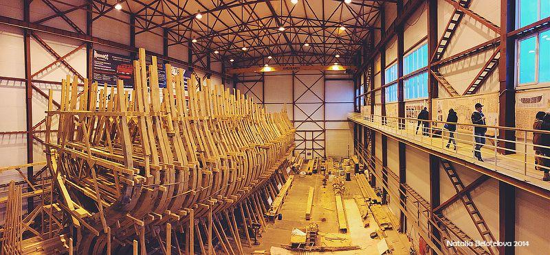 Как строят деревянные суда (28 фото)