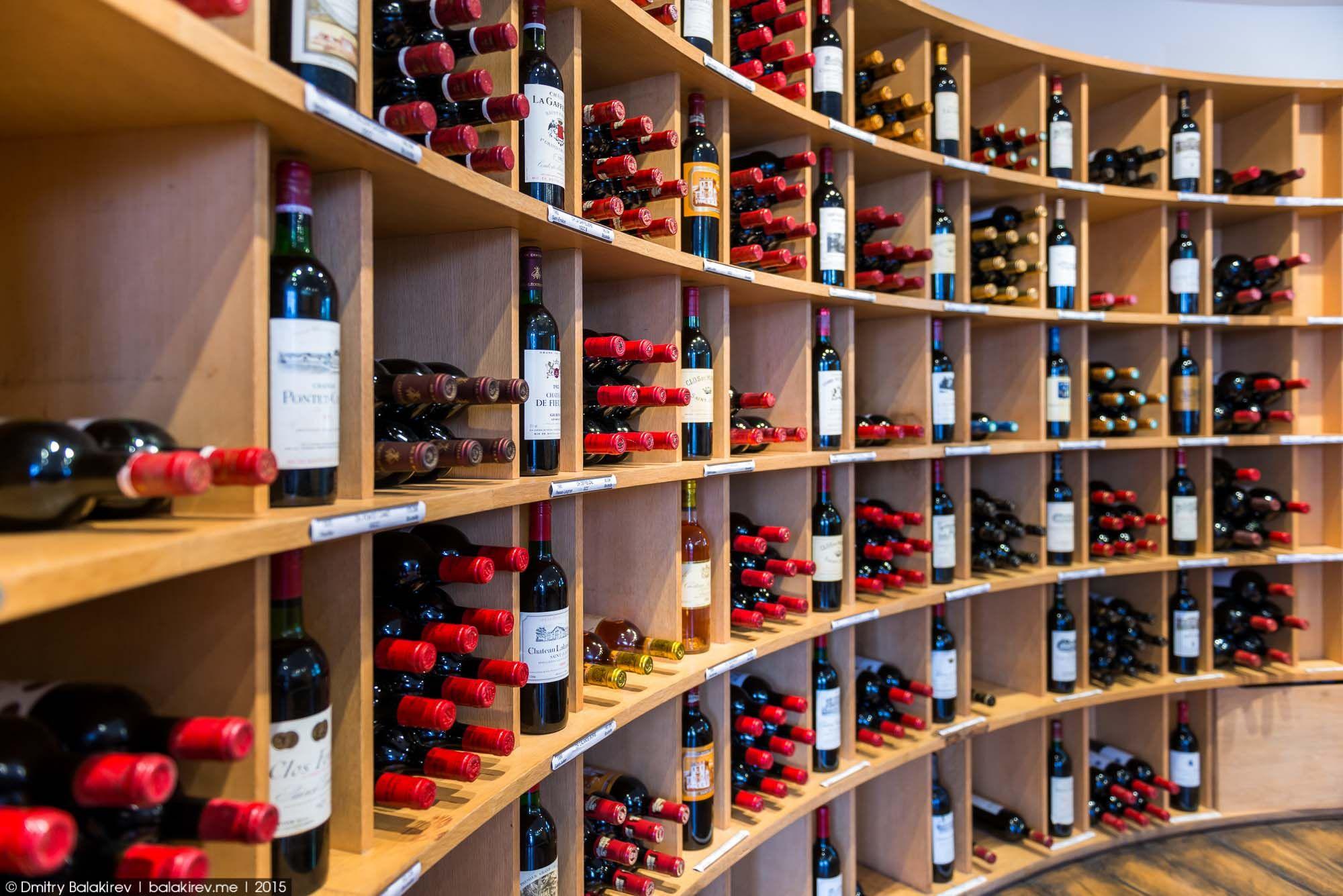 Intendant занимает вершину в иерархии розничной винной торговле. С него берут пример многие аналогич