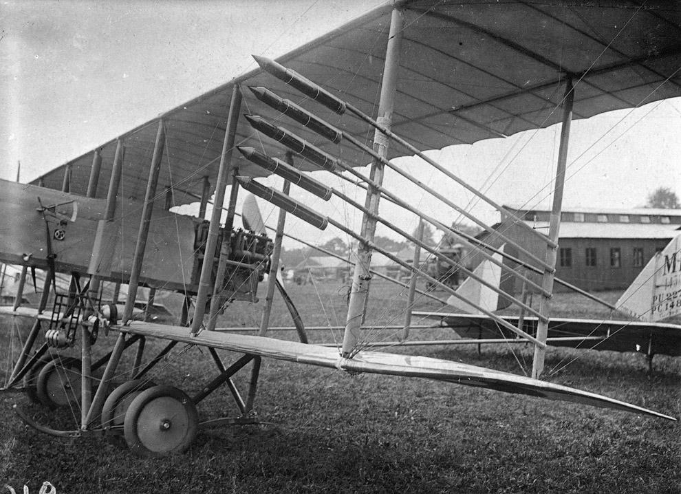 10. Немецкий триплан Pfalz Dr.I. Всего было построено около 40 самолетов. (Фото San Diego Air a