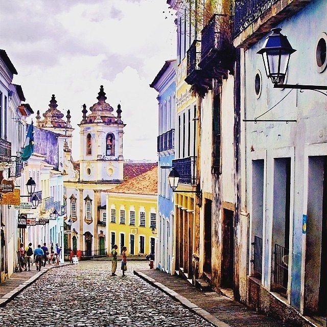 Салвадор, Бразилия. Многие туристы, побывавшие в Салвадоре, окрестили его южноамериканским Новым Орл
