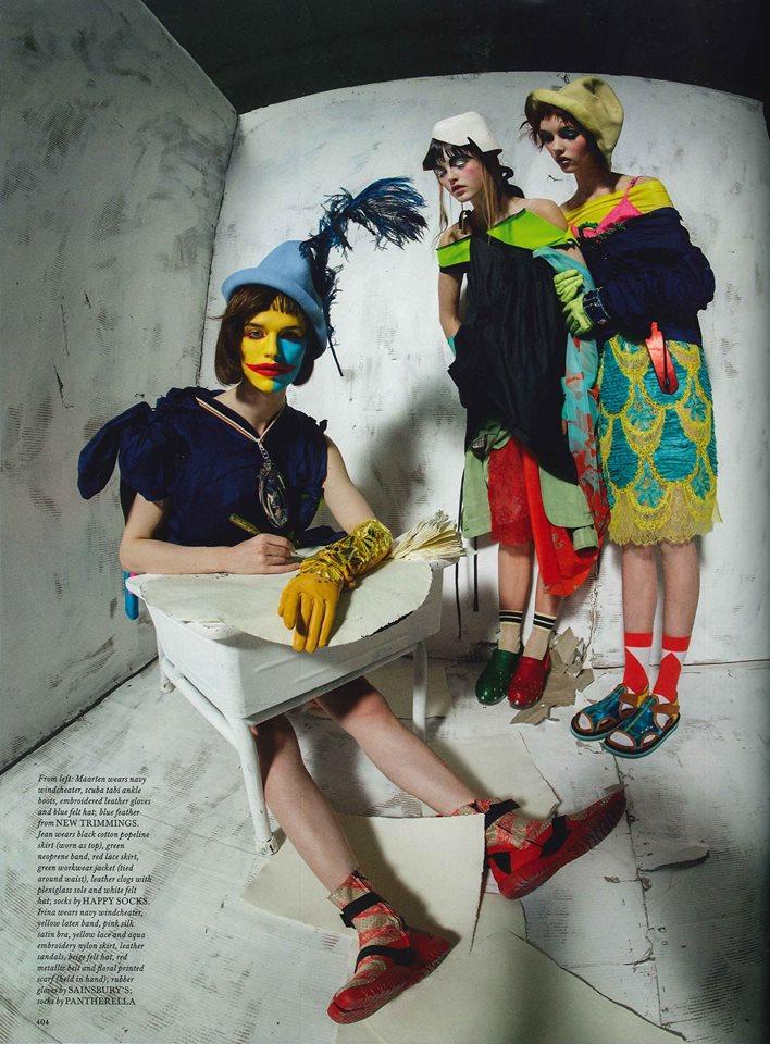 Фотосессия в LOVE Magazine