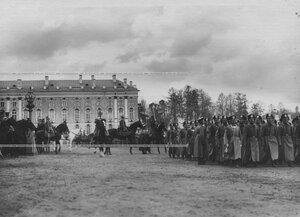 Смотр молодых солдат бригады призыва 1912 года.