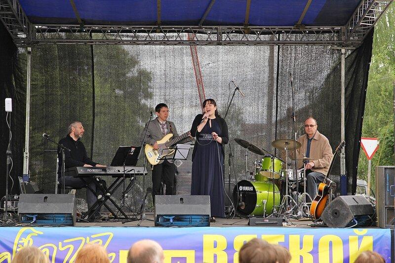 Jazz Mansard на фестивале «Джаз над Вяткой»