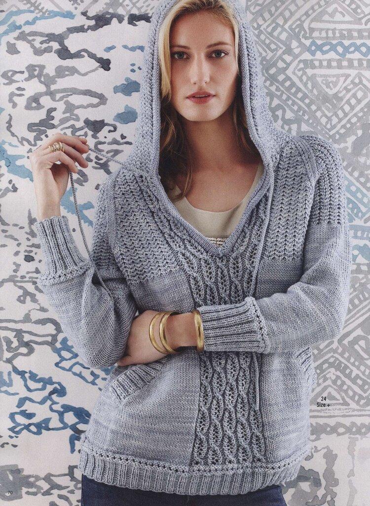 新款棒针毛衣(30) - 柳芯飘雪 - 柳芯飘雪的博客