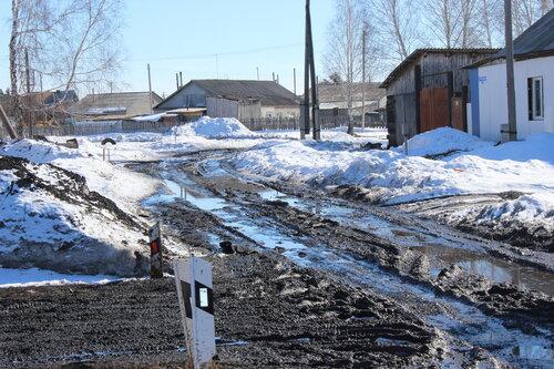 Затапливает куйбышевские улицы,