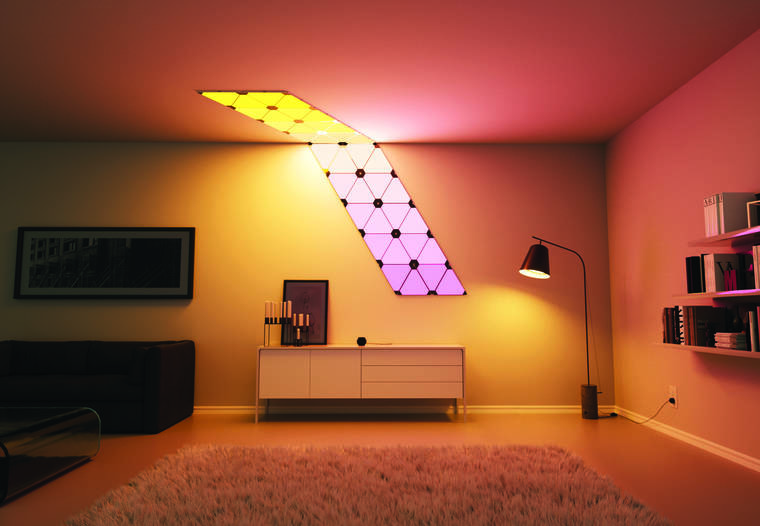 Aurora - Some awesome modular and connected wall lamps