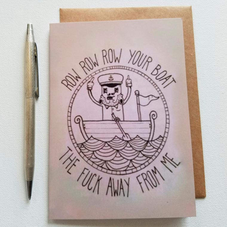 Hate Mail - Sending pretty anti-greeting cards to your enemies