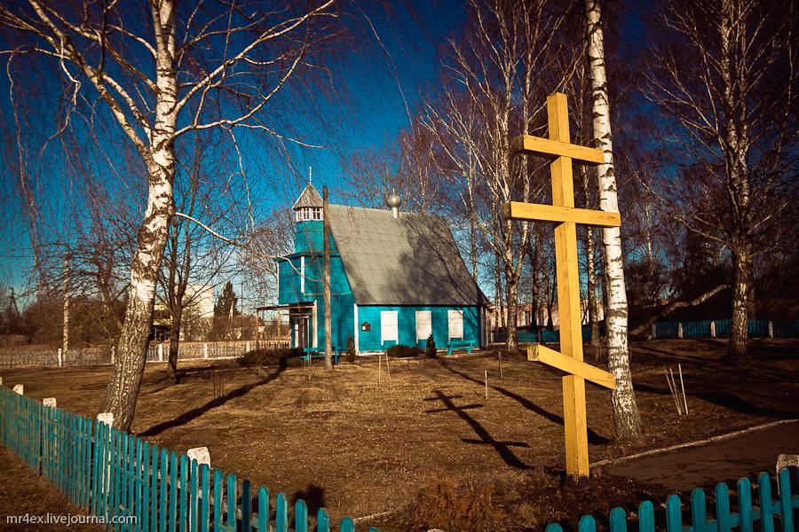 Беларусь, Освея, Церковь св. Георгия Победоносца