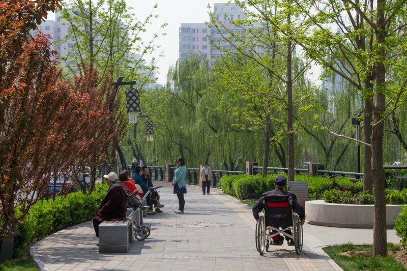 Утром на бульваре, Пекин