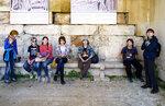 """Муми-Тролль"" в Греции, март 2014 года"