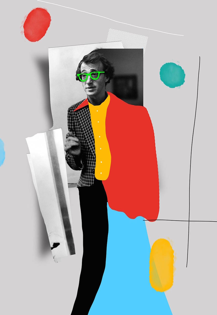 A Colorful Tribute to Woody Allen