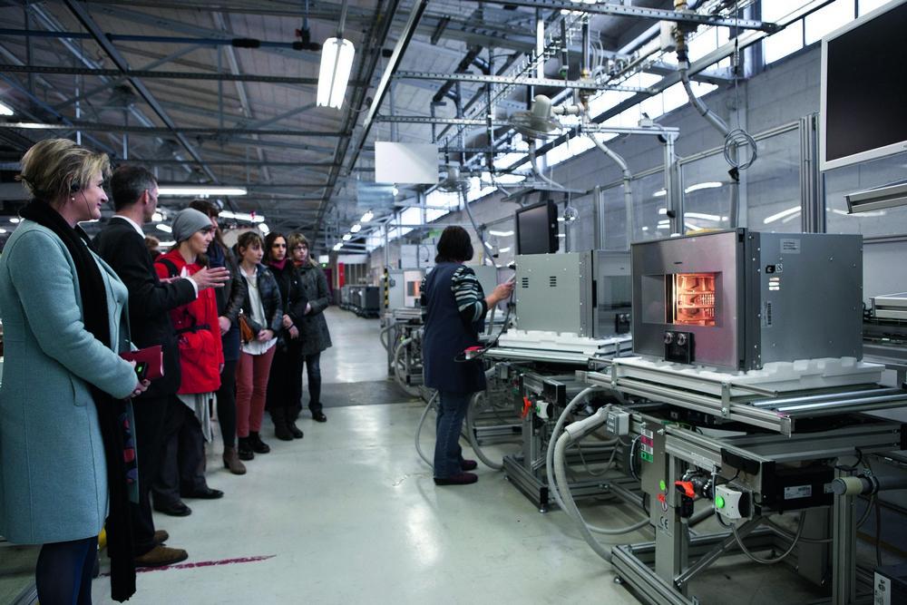 завод бытовой техники во Франции (Bosch Siemens Gaggenau Neff)
