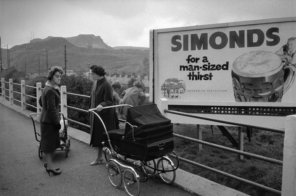 WALES. South Wales valleys. 1961.