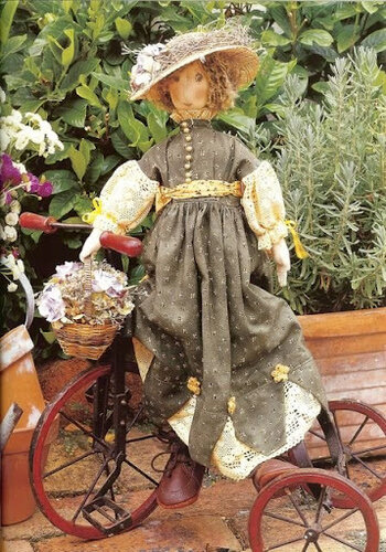 Выкройка куклы статуэтки