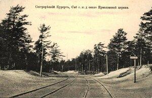 Железная дорога около Ермоловской церкви