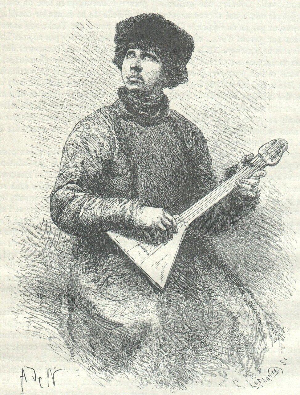 1872. Сельский музыкант
