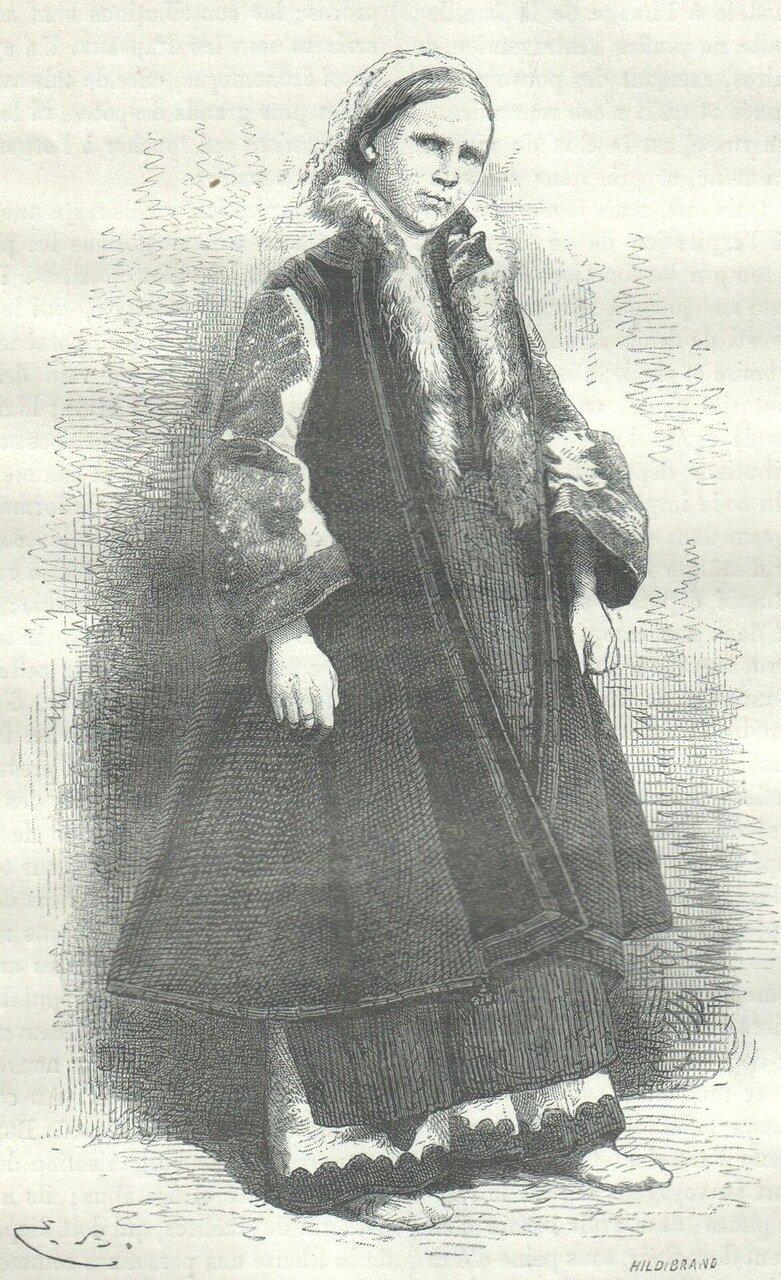 1872. Русская женщина