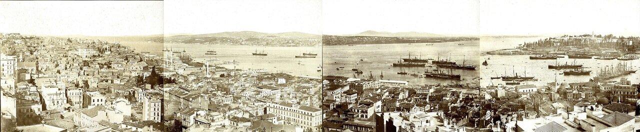 1900.Панорама Константинополя.