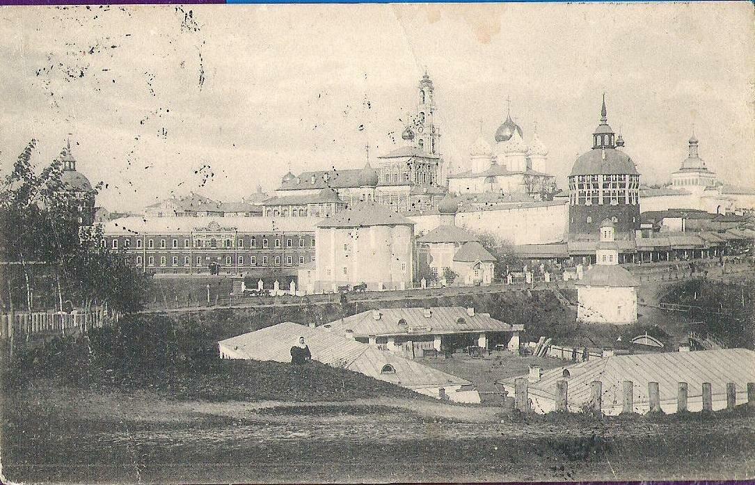 Окрестности Москвы. Троице-Сергиева Лавра