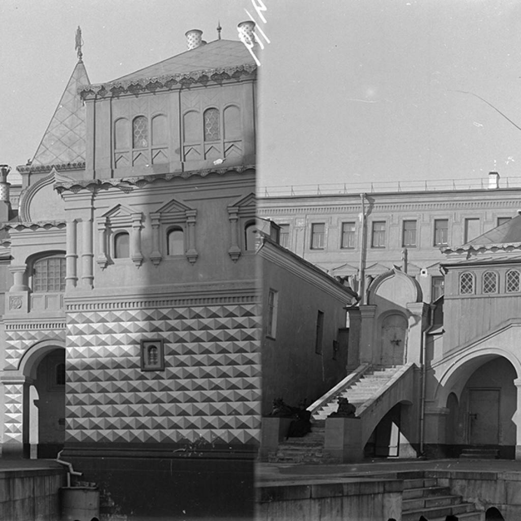 Кремль. Вид части здания Грановитой палаты