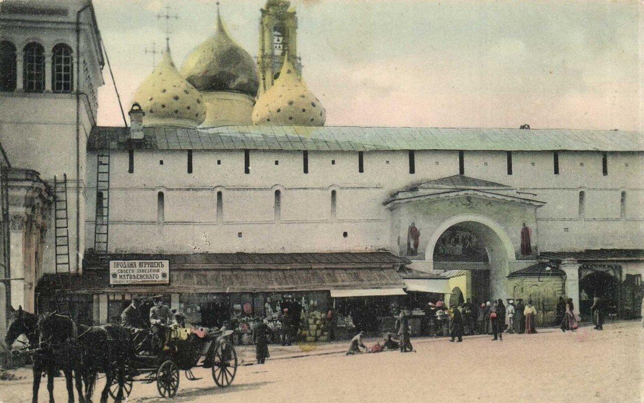 Троице-Сергиевская Лавра. Главный вход в Лавру