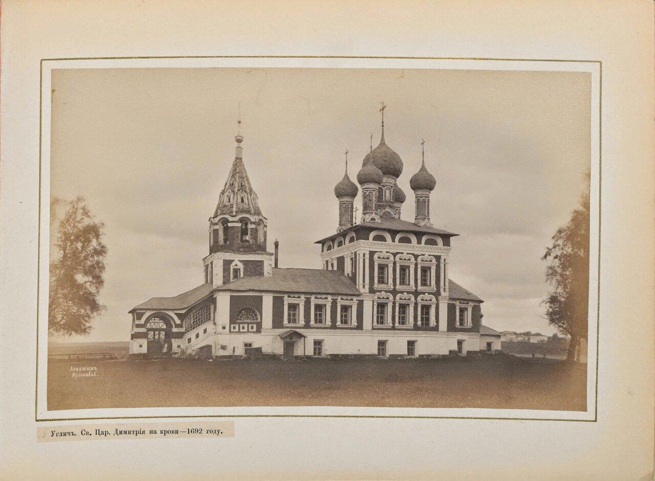 Церковь св. Царевича Дмитрия на Крови