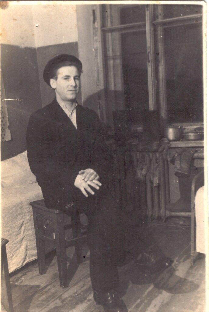 1950-е. Деревня Лимоново. Филипов Алексей Андреевич из Лимоново