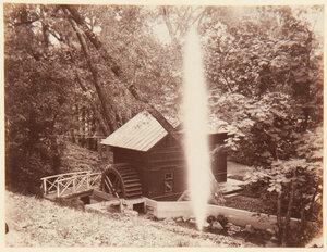 28. Деревянный домик в парке Александрия