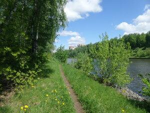 Тропинка вдоль канала им. Москвы.