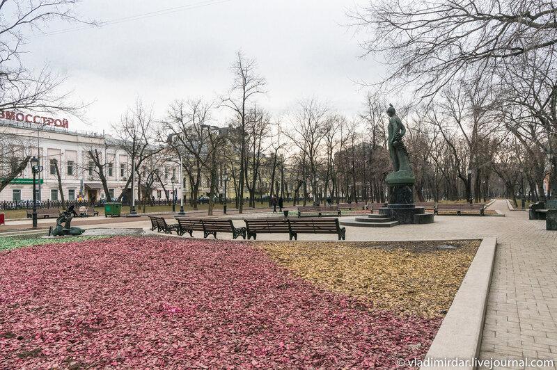 Есенинское место на Тверском