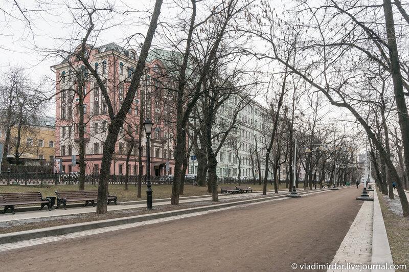 Тверской бульвар - В Ожидании Весны...