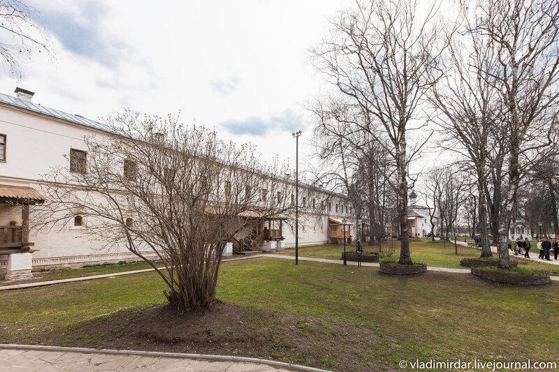 Тюремный корпус в Спасо-Евфимиевом монастыре в Суздале