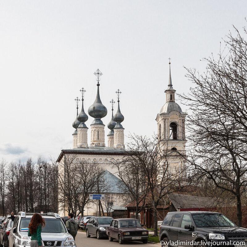 Церковь Смоленской Иконы Божией Матери у юго-восточной стены Спасо-Евфимиева монастыря в Суздале