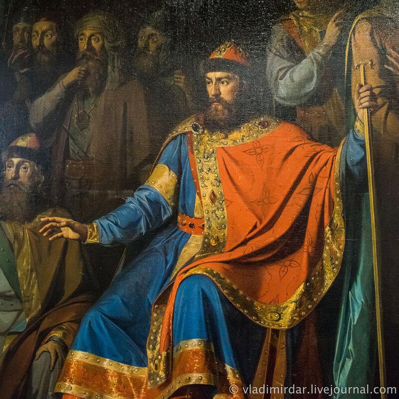Обращение князя Владимира в христианство. 1866 г. П.П. Заболотский.