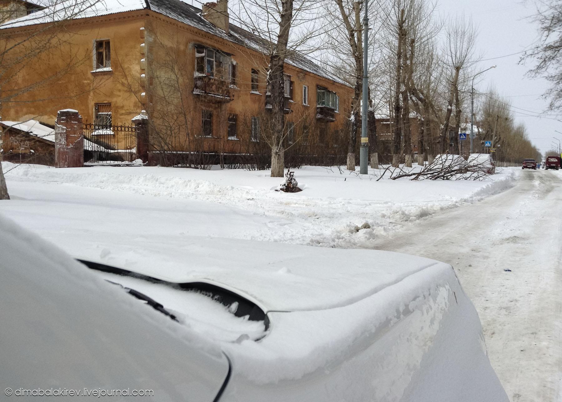 Челябинск весной