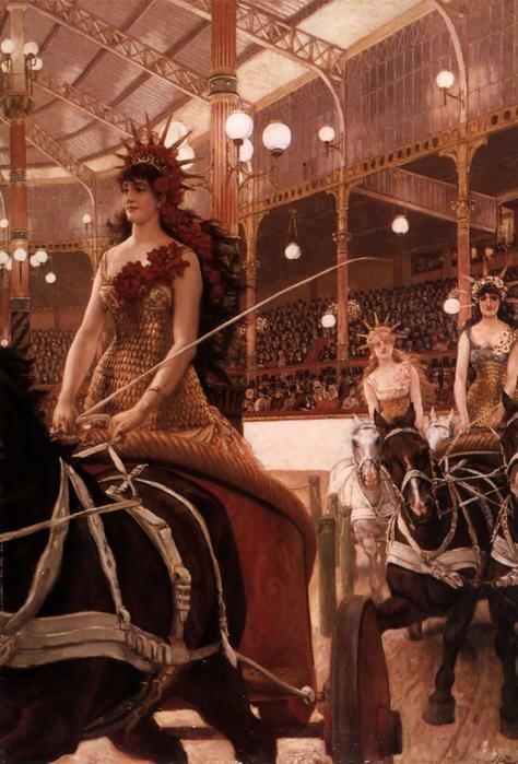 Лошади и цирк в искусстве.