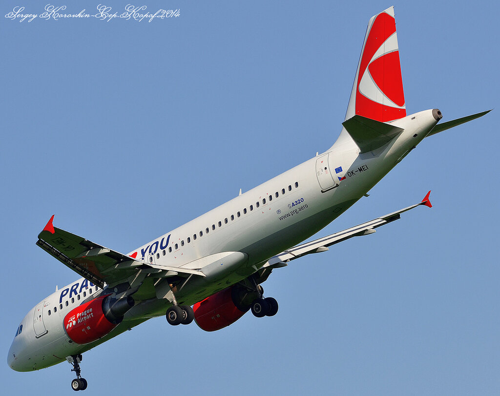 Airbus A320-214 Czech Airlines