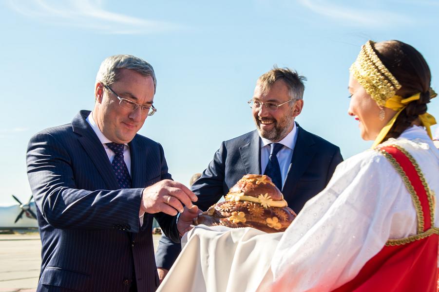 Глава Коми Гайзер посещает Нарьян-Мар.png