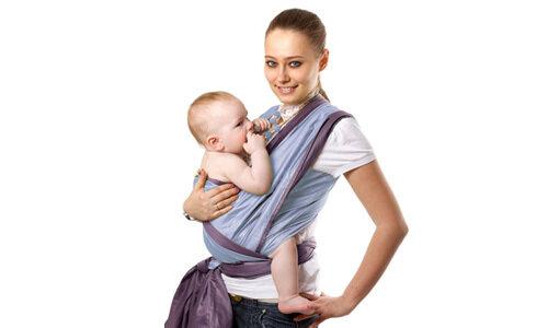 Слинг-шарф. Информация для мам