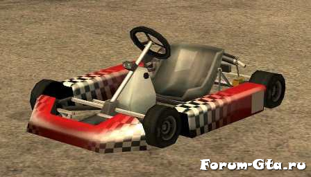 GTA San Andreas Kart