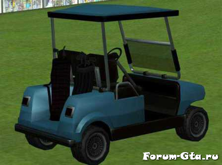 GTA San Andreas Caddy