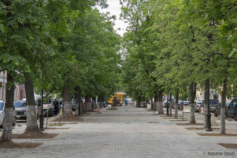 реконструкция бульвара Радищева