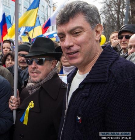 Макаревич на Майдане Ярошу еще споёт. И Немцов, и Шац с Татьяной - будет новый поворот...