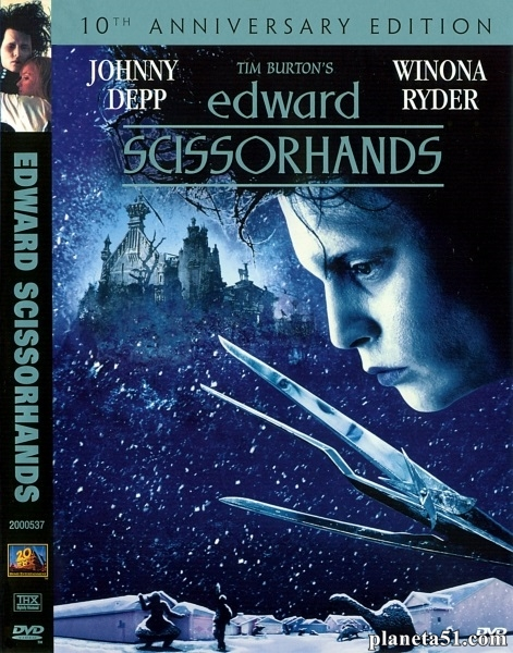 Эдвард руки-ножницы / Edward Scissorhands (1990/HDRip)