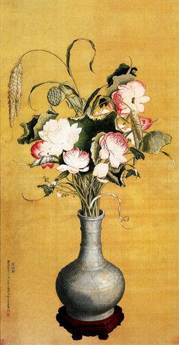 Цветы пиона в вазе..jpg