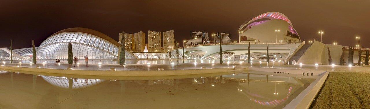 Валенсия, Valencia. Город искусств и наук,  Ciudad de las Artes y las Ciencias, panorama