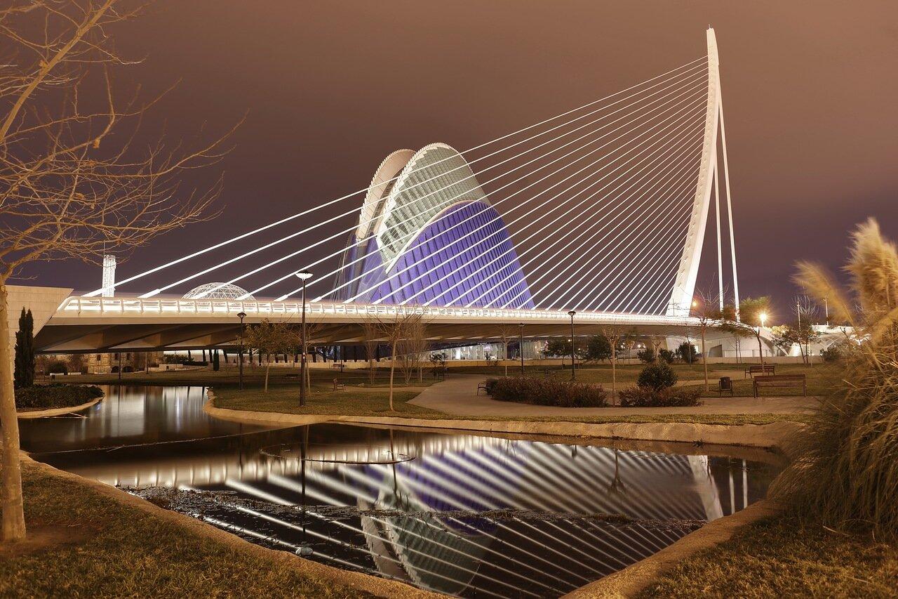 Валенсия, Valencia. Город искусств и наук,  Ciudad de las Artes y las Ciencias,