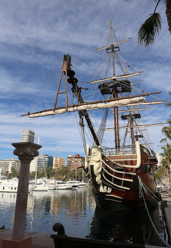 Реплика корабль Сантисима Тринидад (Nuestra Señora de la Santísima Trinidad), Аликанте