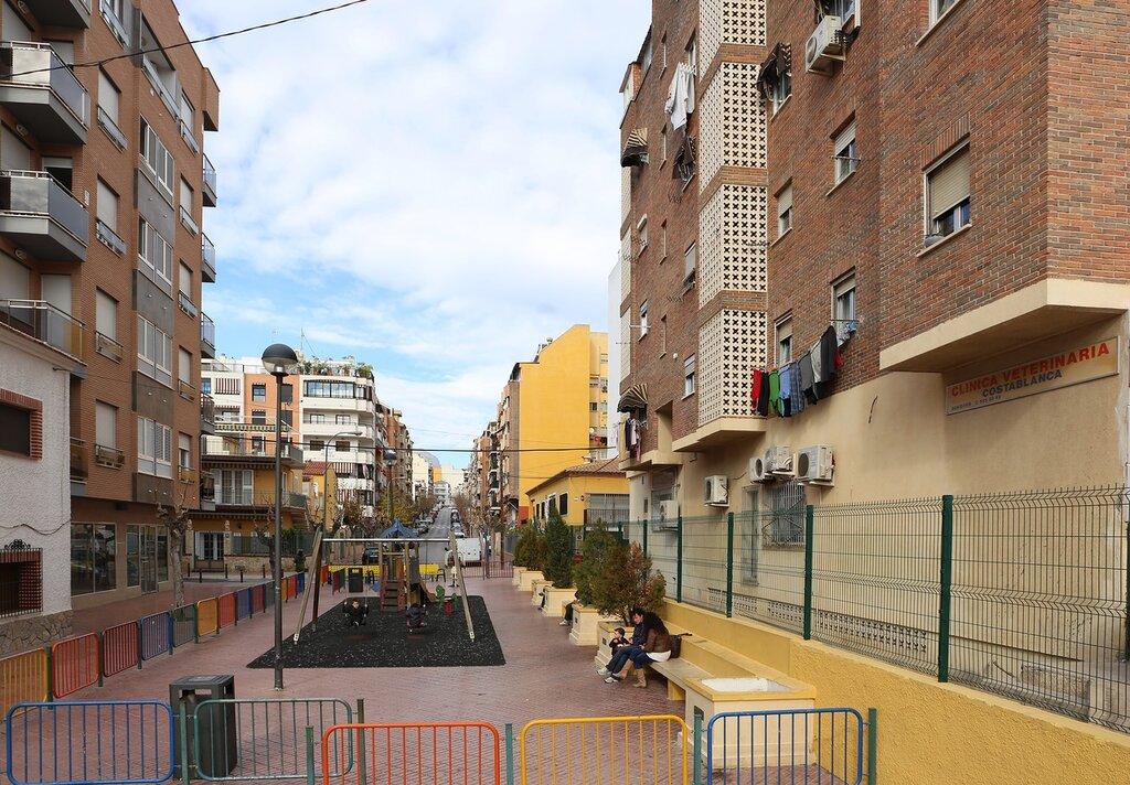 Бенидорм. Проспект Хайме Первого (Avenida Rei Jaume I)