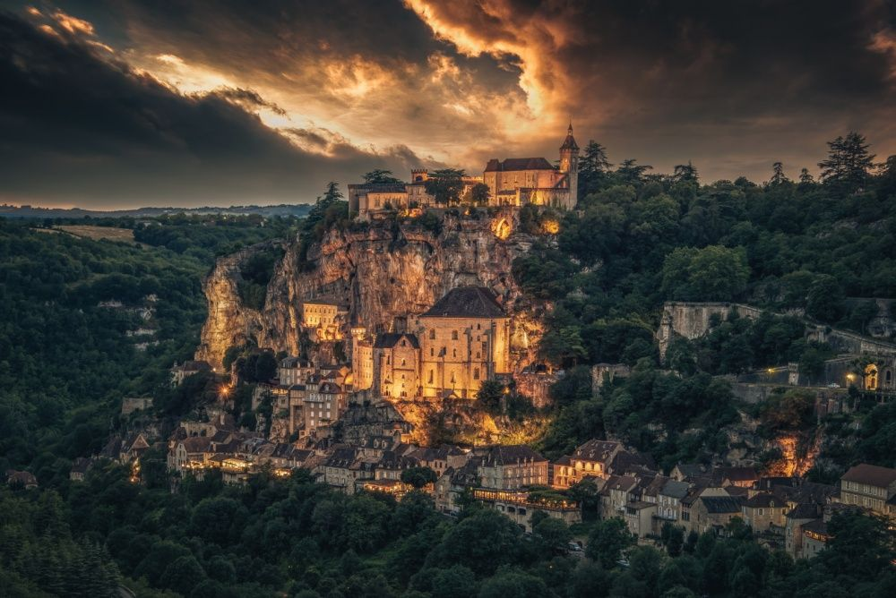 20. Рокамадур, Франция (© alexander-hill)